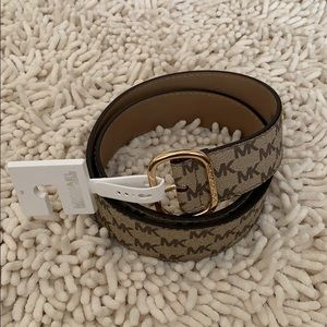 Michael Kors Monogram Belt